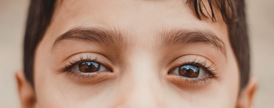 details in de ogen